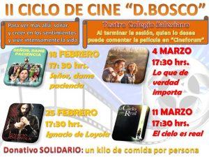 """II CICLO DE CINE """"DON BOSCO"""""""