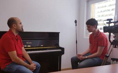 JOSHUA JONES, FINALISTA DEL CONCURSO EXPERIENCIA TV